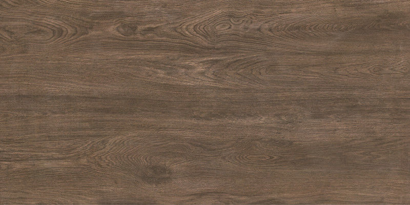 Matte Finish Brown Porcelain Floor Tile That Looks Like Wood  Rustic Waterproof
